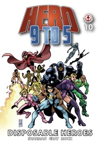 Hero 9 to 5 #10 Cover