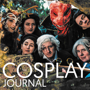 The Cosplay Journal Vol 2 Cover Fix