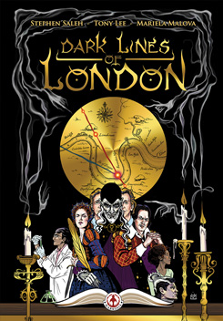 DARK LINES OF LONDON HC